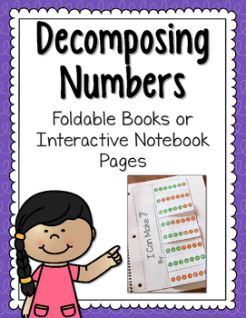 Decomposing Numbers Foldables