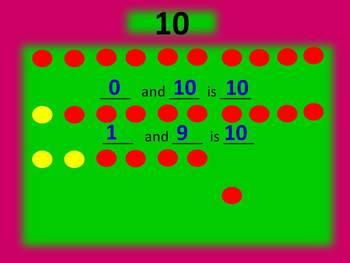 Decomposing Numbers: Making Ten