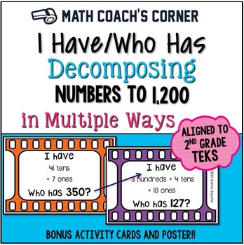 I Have/Who Has: Decomposing Numbers to 1,200 in Multiple Ways