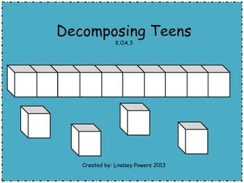 Decomposing Teen Numbers