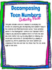 Decomposing Teen Numbers Activity Pack