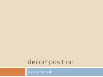 Decomposition of Numbers 2.NBT.1 Interactive PowerPoint