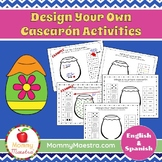 Decorate Your Own Cascarón Bilingual Activity