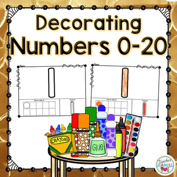 Decorating Numbers 0-20