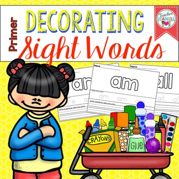 Decorating Sight Words (Primer)