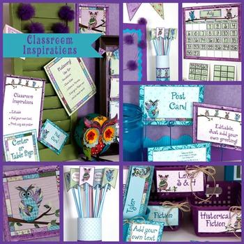 Decorative Accent Papers - Coordinates with Book Smart Owl