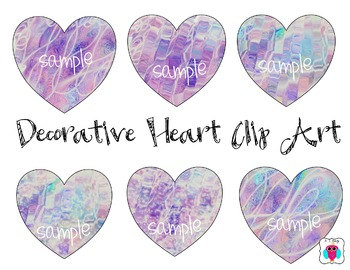 Decorative Heart Clip Art