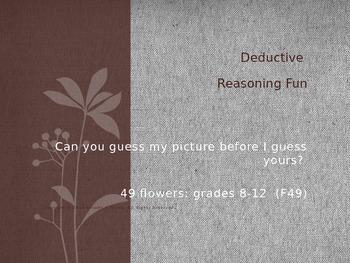 Deductive Reasoning Fun-49 flowers