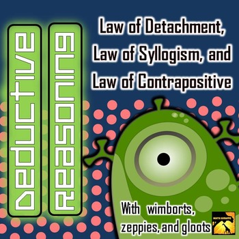 Deductive Reasoning: Laws of Detachment, Syllogism, and Co