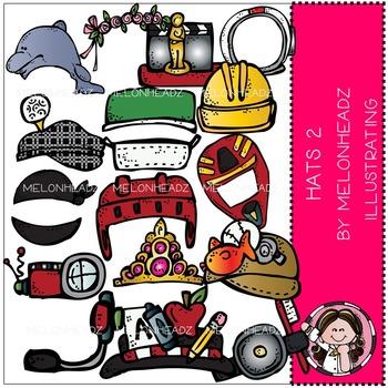 Melonheadz: Hats clip art Part 2 - COMBO PACK