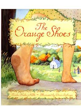 Deep Questioning for The Orange Shoes by Trinka Noble