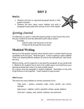 Deep Sea Explorations - An Integrated Writing Activities a