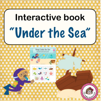 Deep Under the Sea Interactive Book