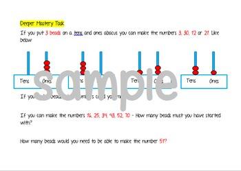 Deeper Mastery Maths Tasks