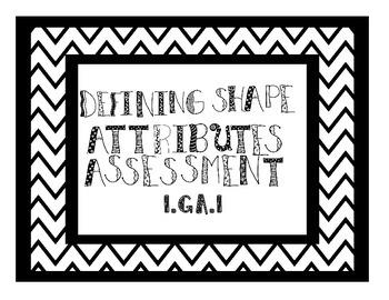 Defining Shape Attributes Assessment