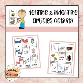 Definite and Indefinite Articles Activity
