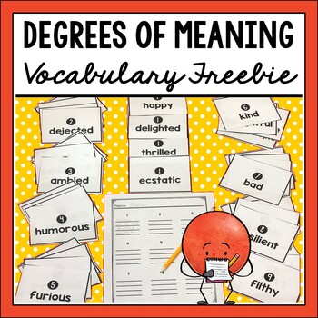 Degrees of Meaning Freebie