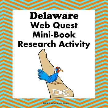 Delaware Webquest Common Core Research Mini Book