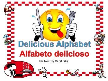 Delicious Alphabet A bilingual alphabet book with environm