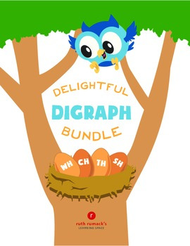 Delightful Digraphs Bundle (TH, SH, CH, WH)