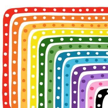 Clip Art: Delightful Dots Border Set