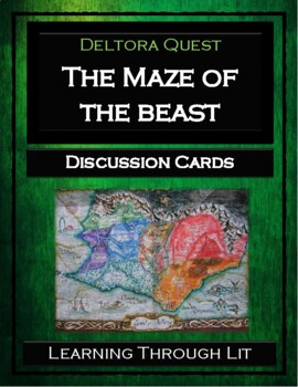 Deltora Quest THE MAZE OF THE BEAST Discussion Cards