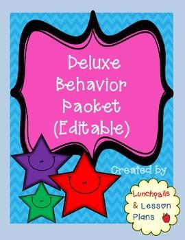 Deluxe Behavior Pack (Editable)