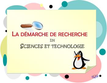 Démarche de recherche en sciences et technologie, cycle moyen