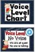Denim  Voice Level Chart Cards Set
