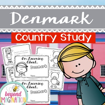 Denmark Country Study | 48 Pages for Differentiated Learni