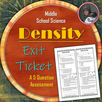 Density Exit Ticket