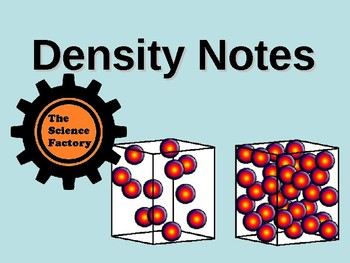 Density Notes PowerPoint