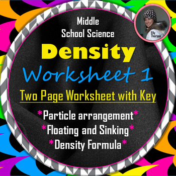 Density Worksheet One