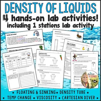 Density of Liquids Labs