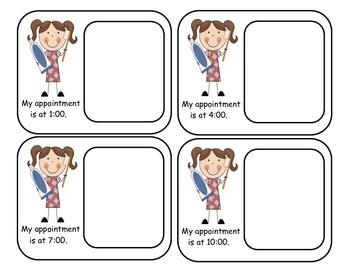 Dental Appt. Time Cards