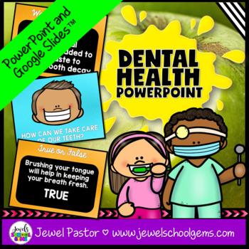 Dental Health Week Activities (Dental Health Week PowerPoint)