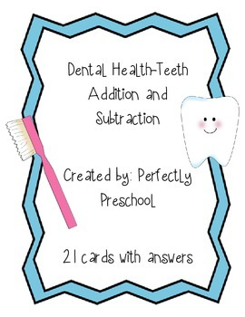 Dental Health Addition and Subtraction