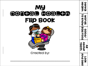 Dental Health Flip Book