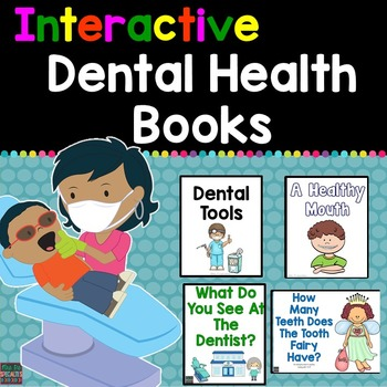 Dental Health Interactive Books