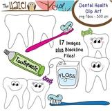 Dental Health Set: Clip Art Graphics for Teachers