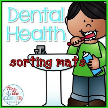 Dental Health Sorting Mats