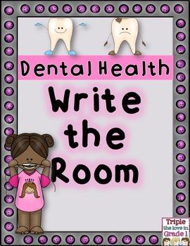 Dental Health Write the Room