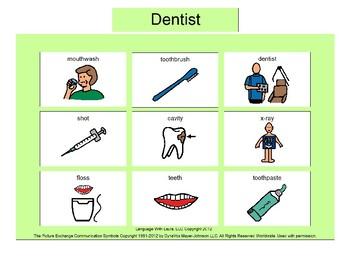 Dentist Bingo! [speech therapy and autism]