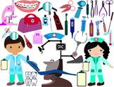 Dentist Clip Art cavities toothbrush dental stomatologist