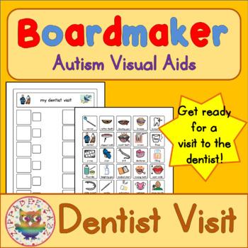 Dentist Visit Routine Checklist - Boardmaker / Autism / AD