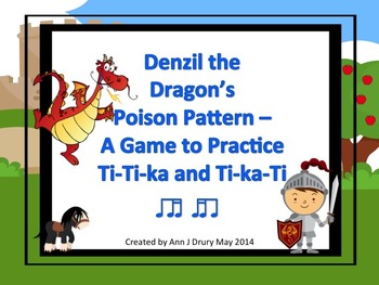Denzil the Dragon's Poison Pattern - A Game for Practicing