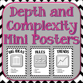 Depth and Complexity Icons Poster Set