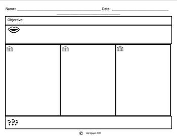 Depth and Complexity Template for Notes