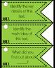 Depth of Knowledge (DOK) 105 Question Stem Cards ELA EDITION