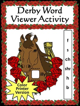 Derby Word Viewer Activity Color Version